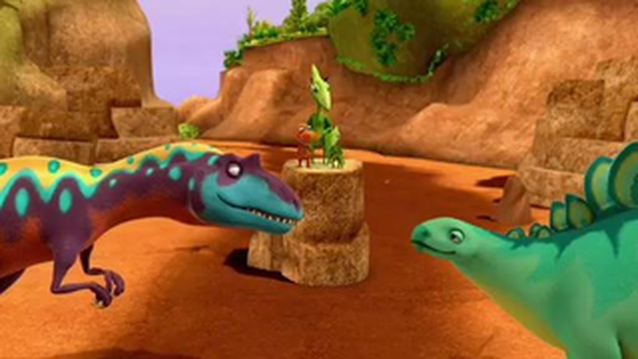 Dinosaur Train | Alvin and Morris Have a Discussion