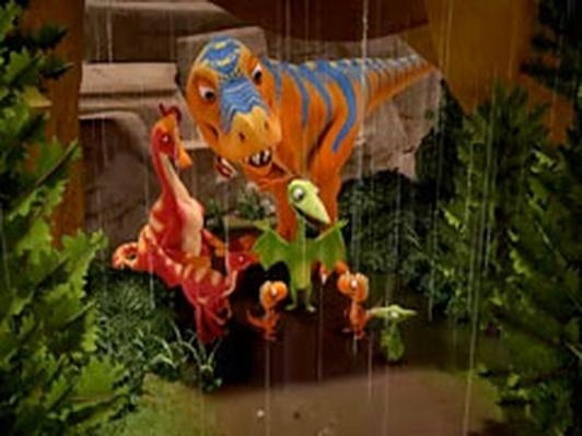 Dinosaur Train | Dads' Day Rained Out