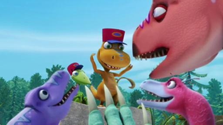 Dinosaur Train | Dinosaur A to Z Picnic at Troodon Town!