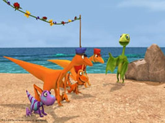 Dinosaur Train | Dinosaur Block Party
