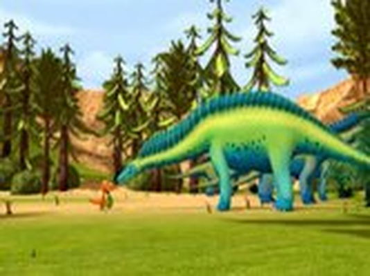 Dinosaur Train | Amargasaurus Acres