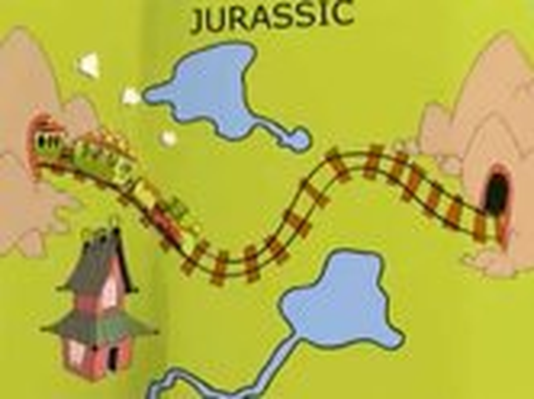 Dinosaur Train Map–Jurassic