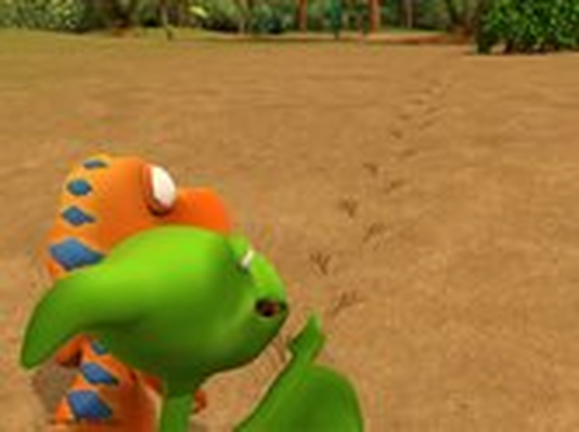 Dinosaur Train | Footprints and Trackways