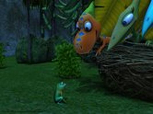 Dinosaur Train | Patricia the Night Frog