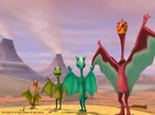 Dinosaur Train | Pterosaur Plane