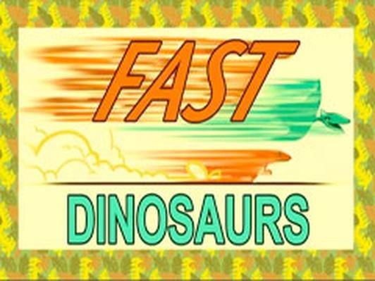 Dinosaur Train | Fast Dinosaurs