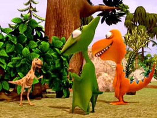 Dinosaur Train | Lesothosaurus Camouflage