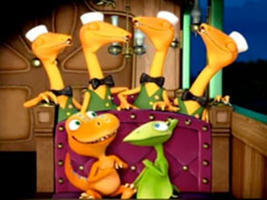 Dinosaur Train | Mr. Conductor's Nocturnal Song