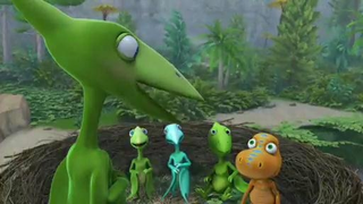 Riding Out the Storm | Dinosaur Train