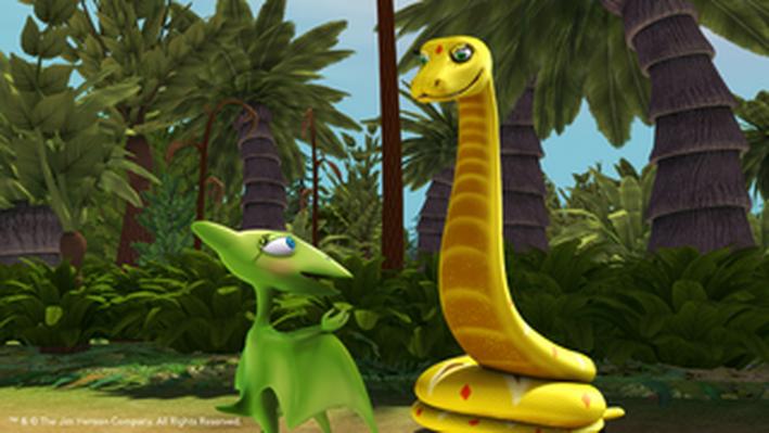 Sanajeh Lesson | Dinosaur Train