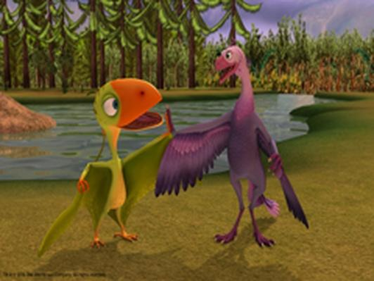 Dinosaur Train | The Oldest Known Bird