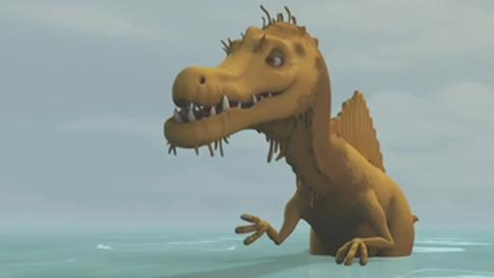 Dinosaur Train | The Fishing Contest