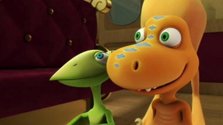 The Nursery Car on the Dinosaur Train! | Dinosaur Train