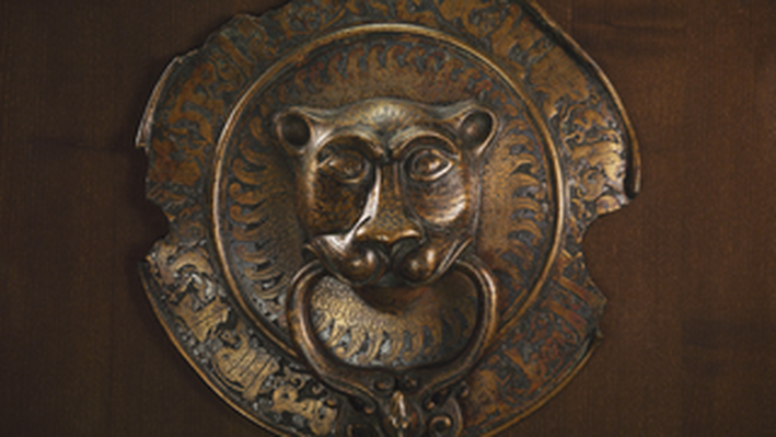 Lion Door Knocker: 11 C. Southern Italy