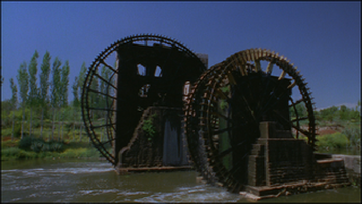 Waterwheel: Hama, Syria
