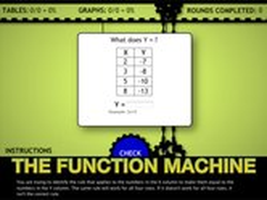 The Function Machine