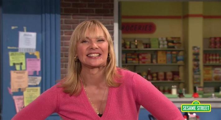 Kim Cattrall: Fabulous | Sesame Street
