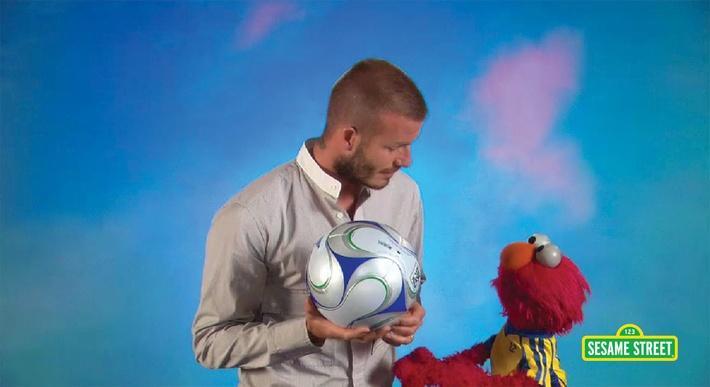 David Beckham: Persistent | Sesame Street