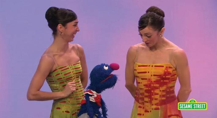 Feijoo Sisters: Pirouette | Sesame Street