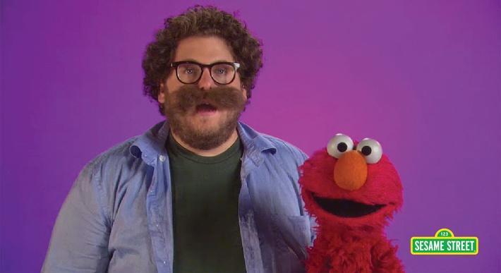 Jonah Hill: Mustache | Sesame Street