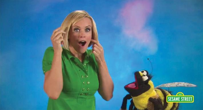 Jenny McCarthy: Insect | Sesame Street
