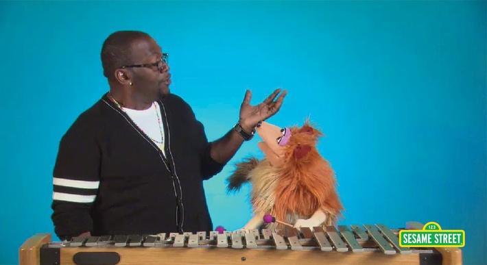 Randy Jackson: Glockenspiel | Sesame Street