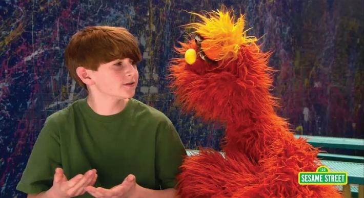 Word on the Street: Curly | Sesame Street