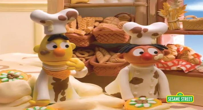 Bert and Ernie's Great Adventures: Bakers | Sesame Street