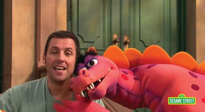 Adam Sandler: A Song About Elmo | Sesame Street