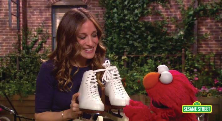 Sarah Jessica Parker: Pair | Sesame Street
