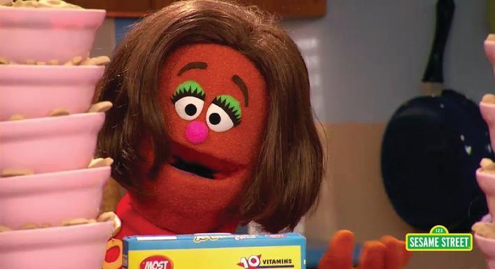 Super K Cereal Commercial | Sesame Street