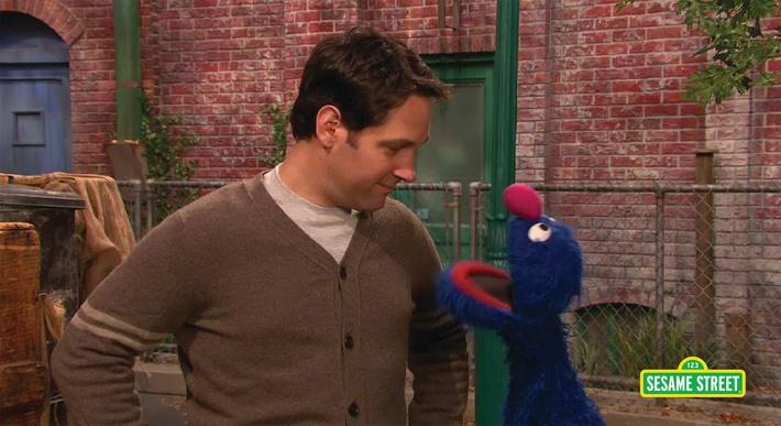 Paul Rudd: Brilliant | Sesame Street