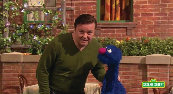 Ricky Gervais: Stumble | Sesame Street