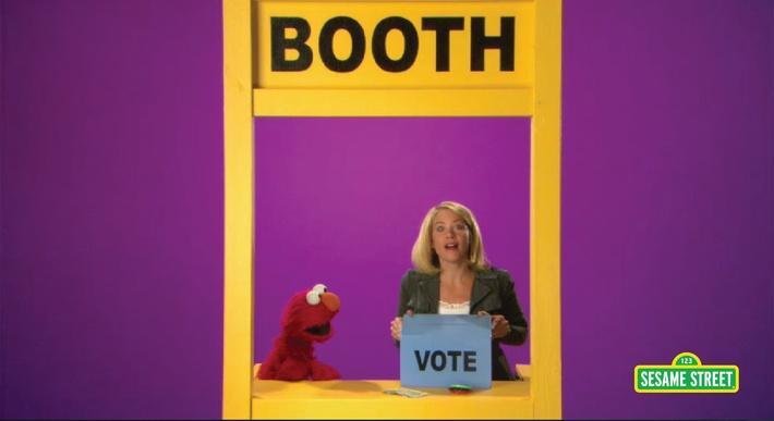 Christina Applegate: Booth | Sesame Street