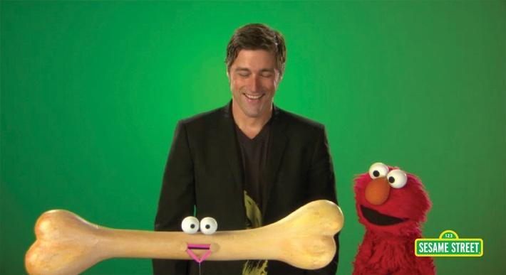 Matthew Fox: Bones | Sesame Street