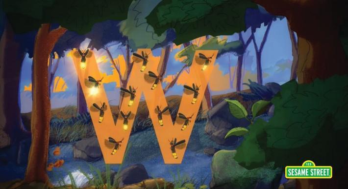 Fireflies: W  | Sesame Street