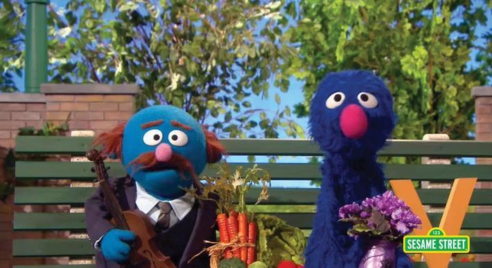 Letter V Salesman | Sesame Street