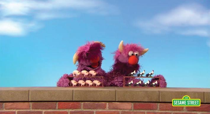 Two-Headed Monster Shows 14 | Sesame Street