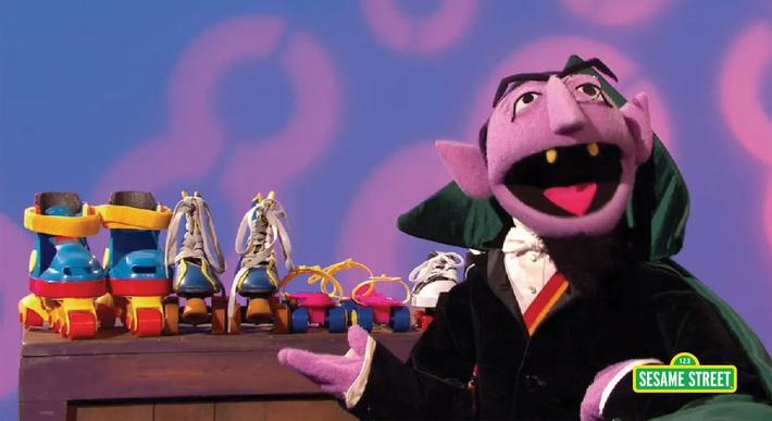 The Count Sings of 8 | Sesame Street