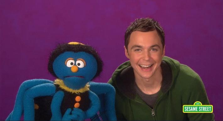 Jim Parsons: Arachnid   Sesame Street