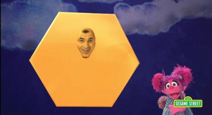 Ty Burrell: Hexagon | Sesame Street