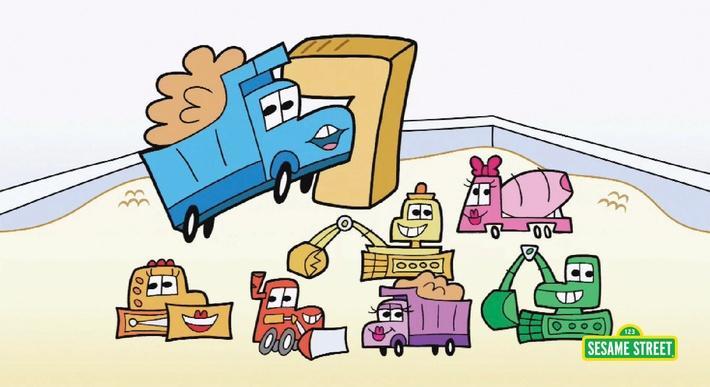 Trucks #7 | Sesame Street