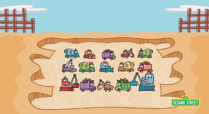 Trucks #15 | Sesame Street