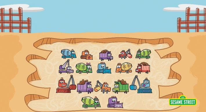 Trucks #17 | Sesame Street