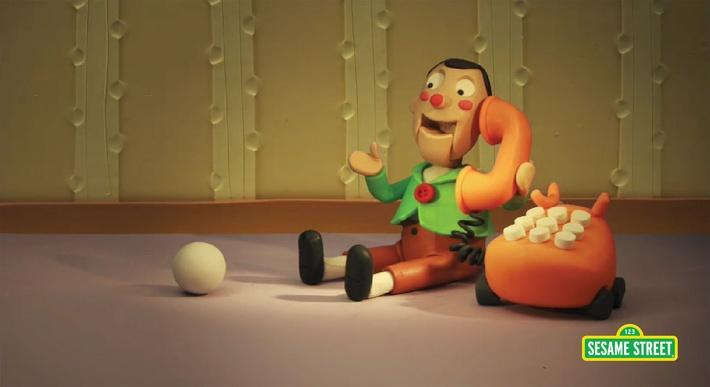 Pinball #12 Claymation | Sesame Street