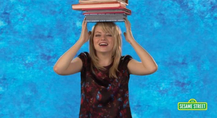 Emma Stone: Balance | Sesame Street