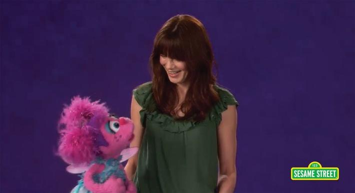 Michelle Monaghan: Fascinating | Sesame Street