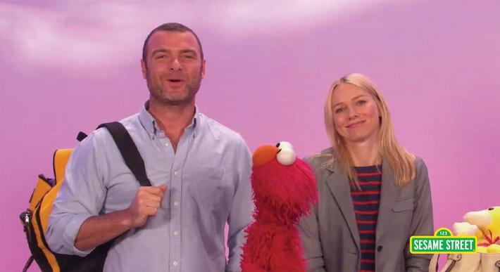 Naomi Watts and Liev Schrieber: Exchange | Sesame Street