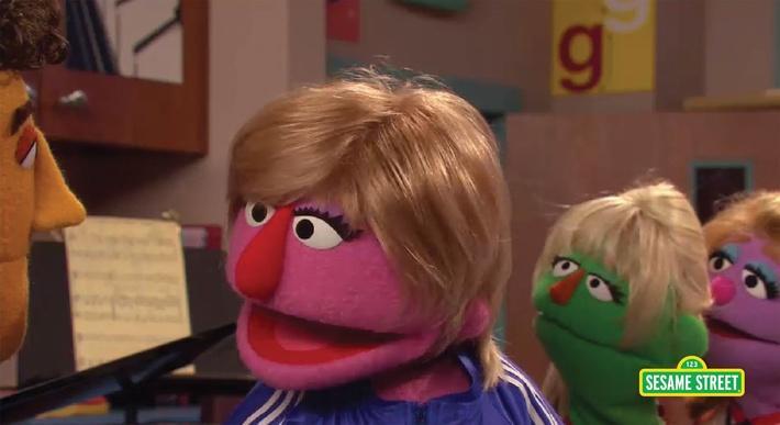 G! Glee Parody | Sesame Street