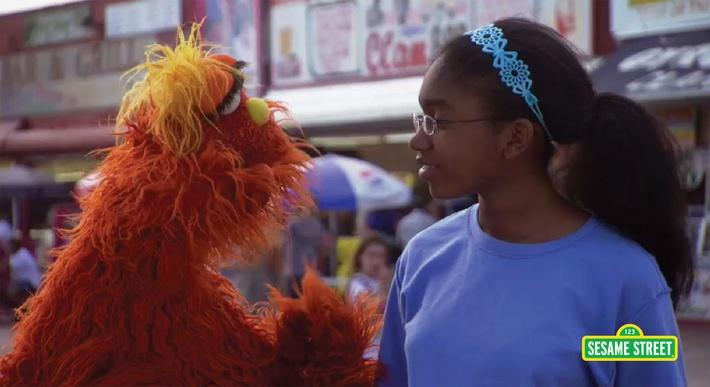 Word on the Street: Exchange with Murray | Sesame Street